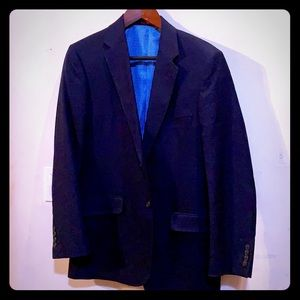 Adolfo Men's Navy Blue Sport Coat